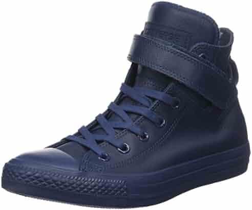 13c873ce1e11 Converse Women s All Star Brea High-Top Leather Fashion Sneaker