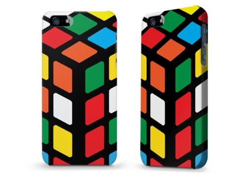 """Hülle / Case / Cover für iPhone 5 und 5s - """"Zauberwürfel"""""""