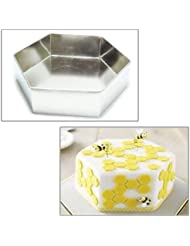 Hexagon Birthday Wedding Anniversary Cake Baking Pan 12 (30cm)