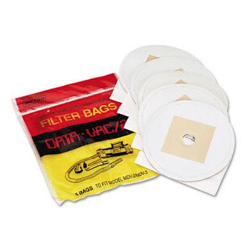 Pro Data-Vac Cleaning Systems Bag Replacement for MDV-2 1-Pack contains 5 bags (3 packs total)