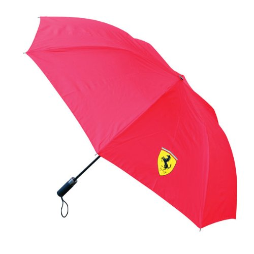 Ferrari Compact Umbrella Red