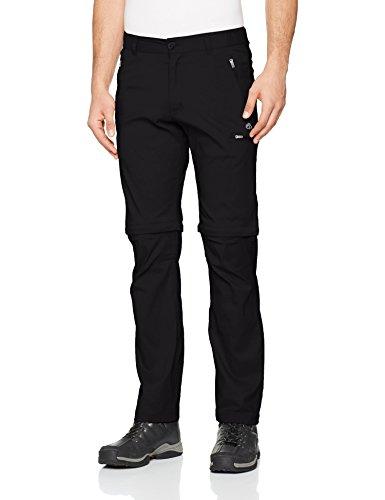 Craghoppers Homme Kiwi Pro Convertible Pantalon noir