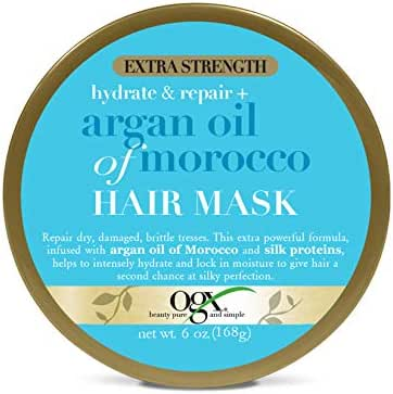 Hair Styling: OGX Hydrate & Repair Hair Mask