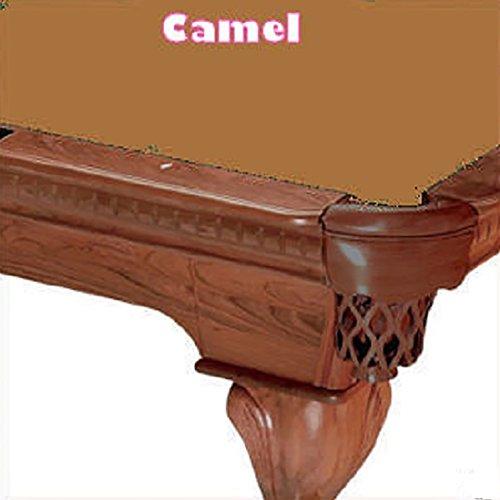- 7' Cut 760 Pool Table Cloth Color: Camel