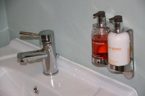 Soap Dispenser Wall Mounted Molton Brown B Wall Decal