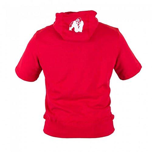 Pullover Herren Rojo amp; Gorilla Wear Boston Fitness Kurzärmeliger Bodybuilding Hoodie Short Sleeve xzRfxva