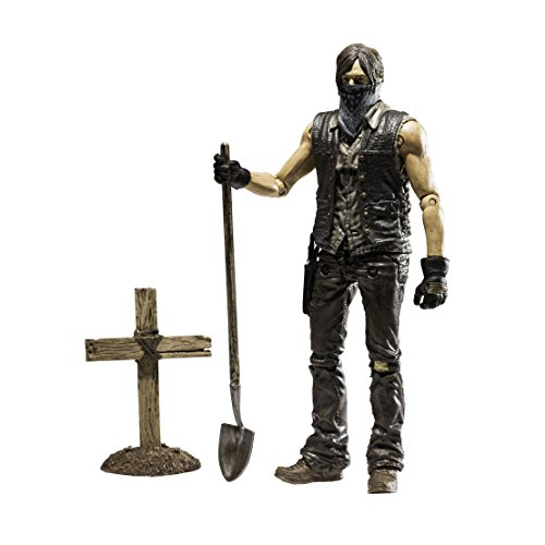 McFarlane Toys The Walking Dead TV Series 9 Muddy Grave Digger Daryl Dixon Action Figure
