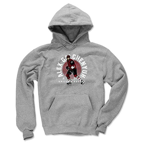 - 500 LEVEL Alex Galchenyuk Arizona Coyotes Hoodie Sweatshirt (Medium, Gray) - Alex Galchenyuk Emblem R WHT