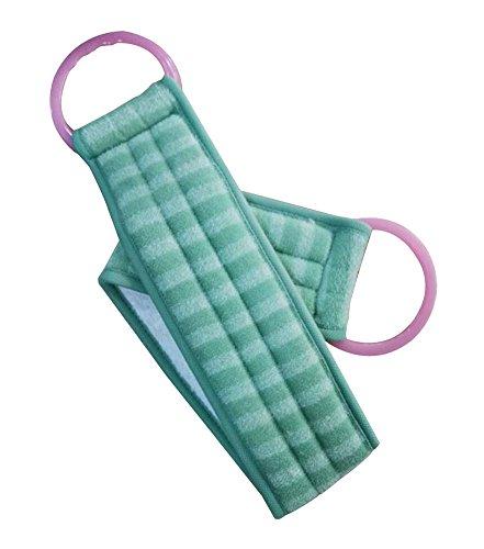 Scrubber Bath Exfoliating Bath Soft Belt Body Bathing Towel Green