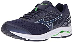 Mizuno Men's Wave Rider 21 Running Shoe, Eclipse, 12 D Us