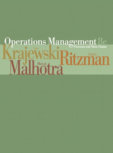 Operations Management Processes and Value Chains ebook