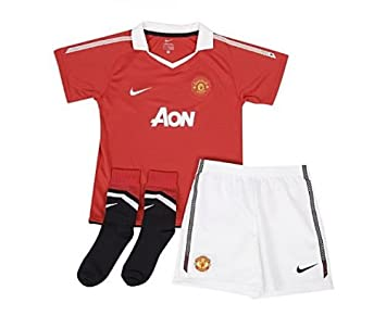 detailed pictures 616b5 7bc95 Manchester United Home Kit 2010/11 - Little Kids - XSB 3 ...