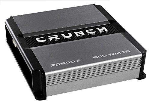 Buy crunch pd8002 power drive 2-channel 800w amplifier