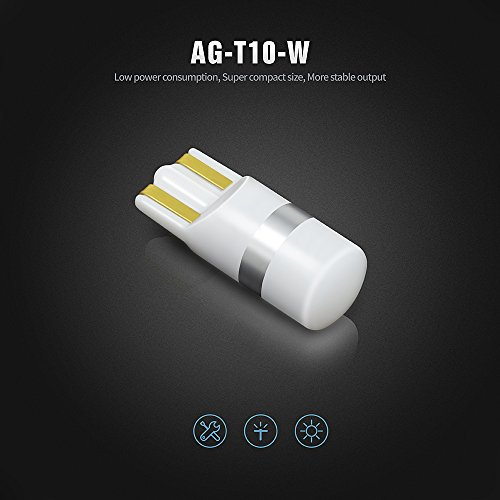 SiriusLED-AG-Super-Bright-300-Lumen-Ultra-Compact-LED-Interior-Light-Bulb-Size-168-175-194-2825-Pack-of-4-Color-White