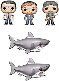 POP! MOVIES - JAWS Chief Brody, Matt Hooper, Quint, Jaws and Jaws