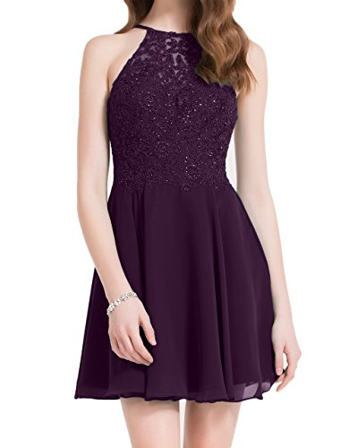 Damen Braut 2018 Attraktive mia Spitze La Promkleider Cocktailkleider Abendkleider Festlichkleider Kleider Traube Neu Linie A 5v7wqExA