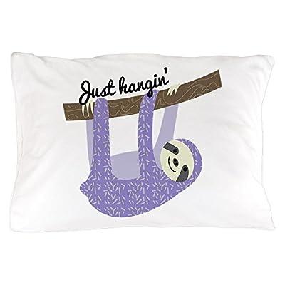 Cafepress Just Hangin Standard Size Pillow Case, 20&Quot;X30&Quot; Pillow Cover, Unique Pillow Slip - Cafepress
