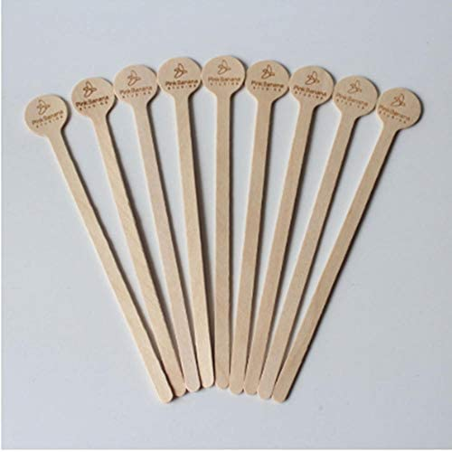 BGPOM Kaffeelöffel Swizzle Sticks Cocktail Drink Rührer Hochzeit Herzstück Party Sticks Name Stir Sticks 50 Pcs/Lot
