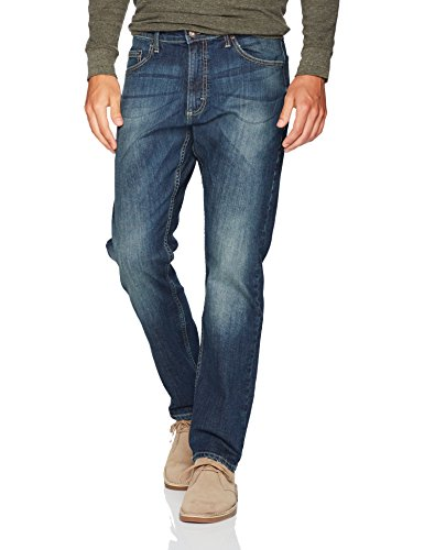 Wrangler Men's Authentics Premium Athletic Fit Jean, Medium Indigo, 36X32 (Jeans Wrangler Men)