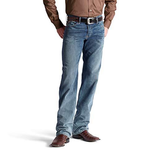 (ARIAT Men's M3 Loose Scoundrel Stackable Straight Leg Jean Size 36W X)