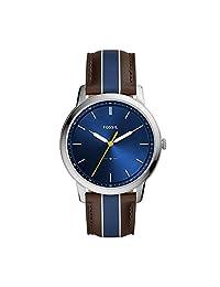 Fossil FS5554 Reloj Caballero, color Marrón