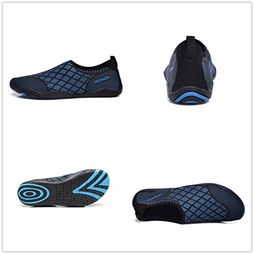 Hinzer Water Shoes Per Uomo Donna Quick Dry Aqua Shoes B-blue