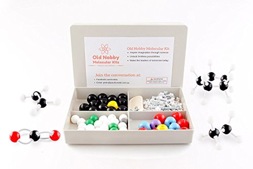 organic-chemistry-model-kit-115-pieces-chemistry-set-molecular-model-kit-atoms-and-bonds-with-instru