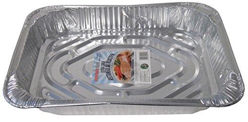 Durable Packaging Rectangular Aluminum Roasting Pan, X-Large, 16-5/8