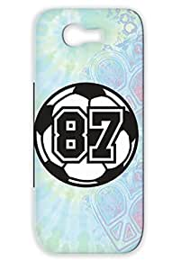 Soccer Football Sports Sports TAS Number Raster Ball Soccer White 87 Raster 2 Color Case Cover For Sumsang Galaxy Note