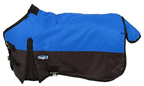 (Tough 1 600D Waterproof Poly Miniature Turnout Blanket, Royal Blue, 50