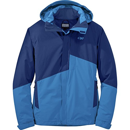 Outdoor Research Men's Offchute Jacket, Baltic/Glacier, Small by Outdoor Research