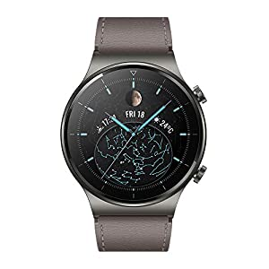 HUAWEI Watch GT 2(42mm) Montre connectée, Autonomie d'une semaine, GPS intégré, 15 Modes de Sport, Suivi du rythme…