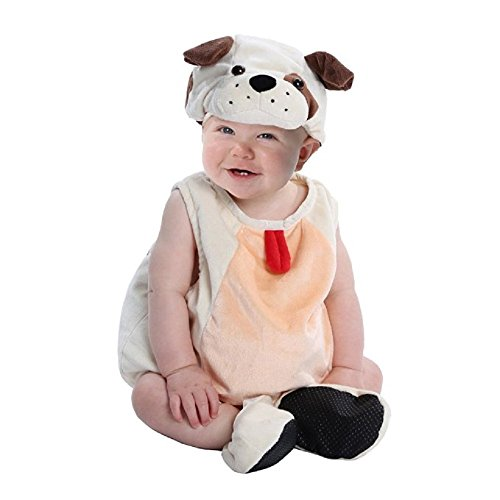 Boo Babies Halloween Costume Precious Puppy Dog Sz 9-18 Months 3 Pieces Beige