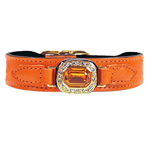 Hartman and Rose Haute Couture Octagon in Tangerine & Topaz : 12-14