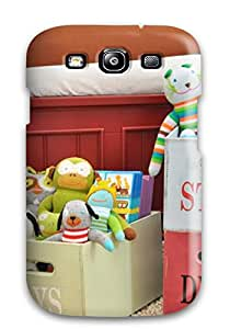 New Boy8217s Red And White Storage Bins Tpu Case Cover, Anti-scratch LindaOlgaa Phone Case For Galaxy S3