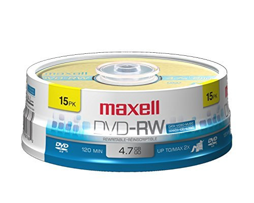 MAX635117 - Maxell 2x DVD-RW Media by Maxell