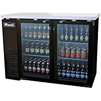 Migali C-BB48G-HC Competitor Series Refrigerated Back Bar Cabinet, 48.75 W, 11.8 cu. ft. capacity