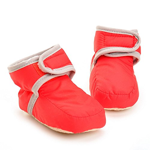 Pictures of Enteer Infant Waterproof Snow Boots Premium Soft 8