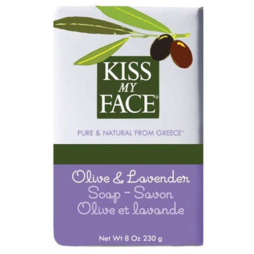 Kiss My Face Olive Oil & Lavender Bar Soap 8 oz (Pack of 2)