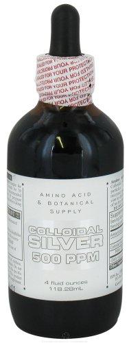 Amino Acid & Botanical Amino Silver Coll 500Ppm 4 Oz