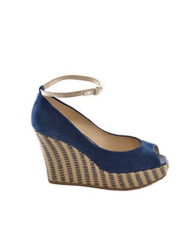 De Piel Vestir Tod's Sandalias Turquesa Azul Para Mujer qC4xO5w7xt