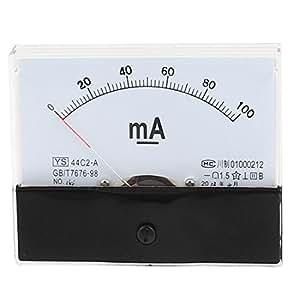 44C2-A 0-100mA Clase 1.5 Precisión vertical analógico amperímetro amperímetro