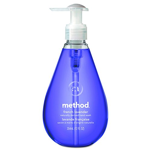 Method Gel Hand Soap, French Lavender, 12 Ounce (Pack 6)