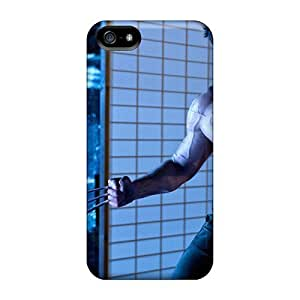 5/5s Scratch-proof Protection Cases Covers For Iphone/ Hot Hugh Jackman In The Wolverine Phone Cases