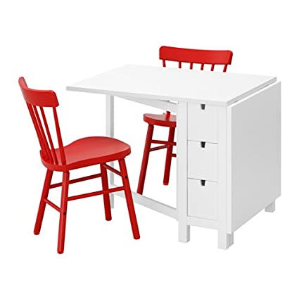 Wondrous Amazon Com Ikea Kritter Childrens Table And 2 Chairs Gmtry Best Dining Table And Chair Ideas Images Gmtryco