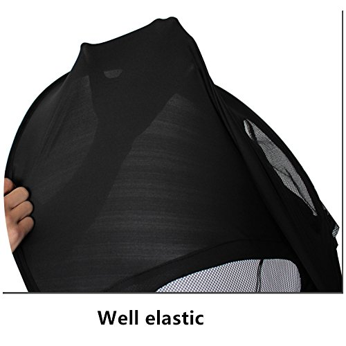 Summer Rayshade Stroller Cover Sunshade Canopy Compatible for Babyzen YoYo and Yoyo+ by ROMIRUS (Image #3)