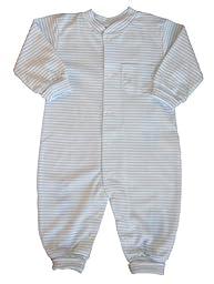 Kissy Kissy Playsuit Simple Stripes - Blue -- blue size: 6-9 months