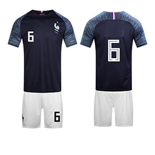 (ZLJTYN French Jersey, 2018, Portugal, Football Suit Suit, Male, Argentina, Germany, Match Training Jersey, 7)