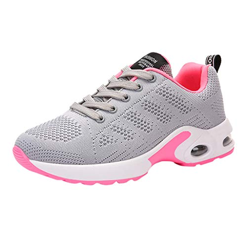 Peigen Running Shoes Women 2019 New Trail Casual Indoor Comfort Athletic Lightweight Road Fashion Ladies Breathable Anti-Slip Cushion Sneakers Casual Running Shoes