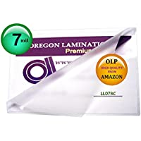 7 Mil Legal Laminating Pouches 9 x 14-1/2 Laminator Sleeves Qty 100